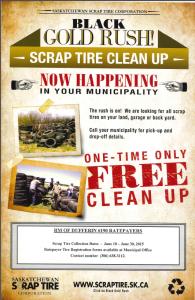 scrap tire poster