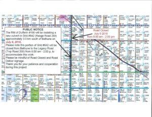 Grid 642 closed - public notice